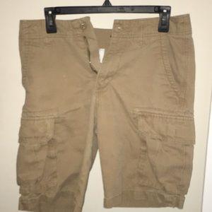 Old Navy Khaki Cargo Shorts